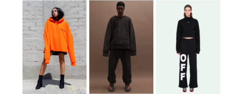Oversized Shapes and Sports Motifs